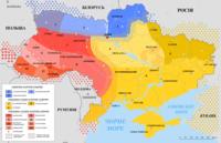 Dialekty północneDialekty południowo-wschodnieDialekty południowo-zachodnie