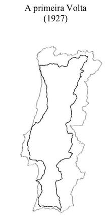 mapa volta a portugal Volta a Portugal em Bicicleta – Wikipédia, a enciclopédia livre mapa volta a portugal