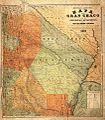 Mapa del Gran Chaco y de las provincias adyacentes, por Guillermo Araoz, 1885.jpg