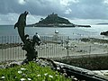 Marazion, St. Michael's Mount, The Causeway at High Tide - geograph.org.uk - 211016.jpg