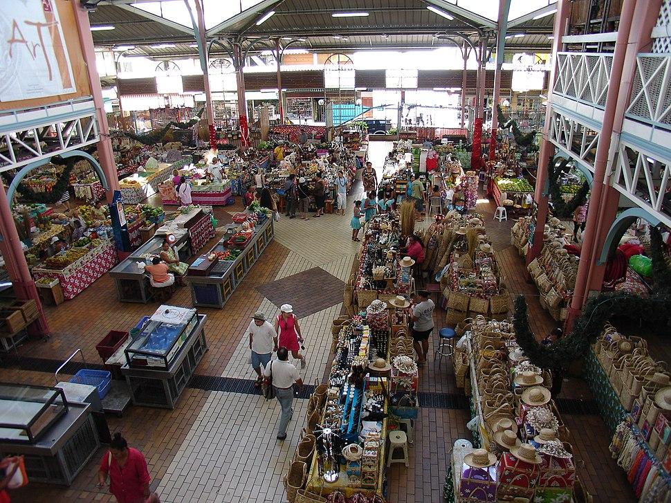 Marché Papeete2