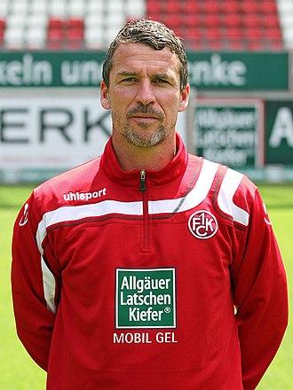 Marco Kurz - Kurz with 1. FC Kaiserslautern in 2011