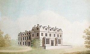 Maresfield - Maresfield Park, watercolour by Benjamin Dean Wyatt (1775–1850)