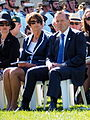Margie Abbott and Tony Abbott at the Canberra Operation Slipper Welcome Home Ceremony in March 2015.jpg