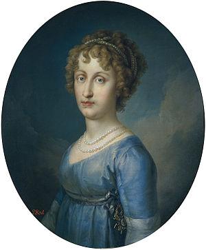 Princess Maria Antonia of Naples and Sicily - Portrait by Vicente López Portaña, c. 1805