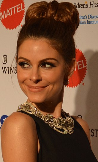 Maria Menounos - Menounos 2014 Kaleidoscope Ball (cropped)