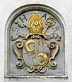Maria Steinbach Kirchhof Wappen Vogler 1713.jpg