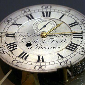 Ferdinand Berthoud - Image: Marine clock no 2 Cn AM 1387 IMG 6662