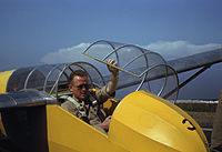 Marine glider pilot in training at Page Field, is watching take-offs, Parris Island, SC.jpg
