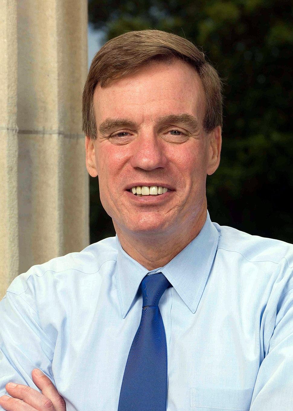 Mark Warner, official 112th Congress Senate portrait