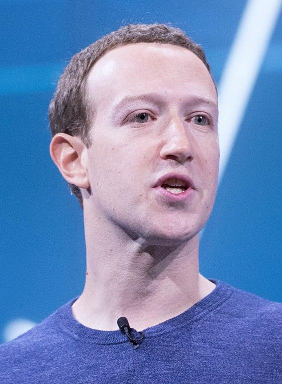 マーク・ザッカーバーグ(Mark Zuckerberg)Wikipediaより