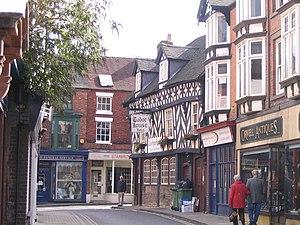 Market Drayton - Image: Market Drayton Tudor House Hotel