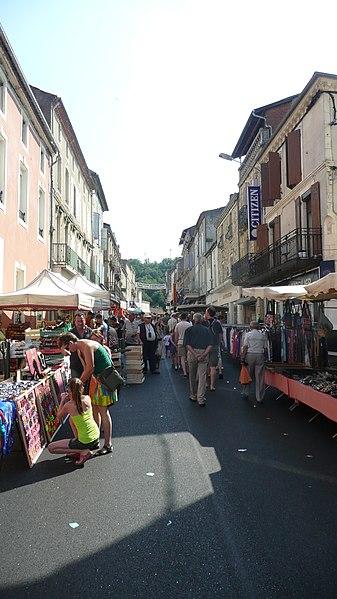 Market in Flumel