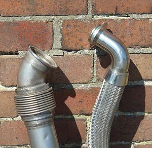 Marman clamp - Image: Marman clamp flanges