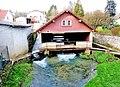 Marnay. Lavoir couvert sur le ruisseau de la fontaine des Douis.jpg
