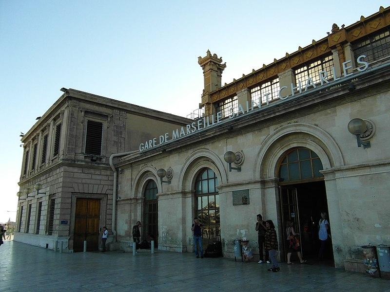 Marseille - Gare de Saint Charles
