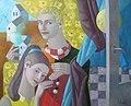 Marta Shmatava 2014 Two and moon 100x80.JPG