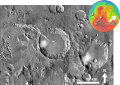 Martian impact crater Tibrikot based on day THEMIS.png