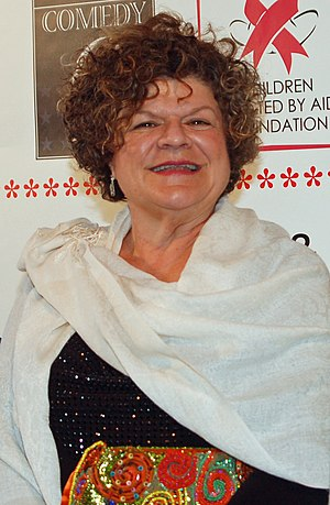 Mary Pat Gleason - Gleason at the Night of Comedy 9 benefit in Beverly Hills, California in April 2011
