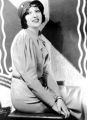 Mary Livingstone - As part of Benny's vaudeville act; she was still known as Sadie at the time
