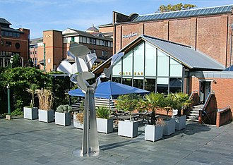Allan Sly - Image: Masquerade Sculpture, Guildford Surrey