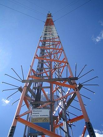 Kuhmoinen - Image: Mast in Kuhmoinen 2