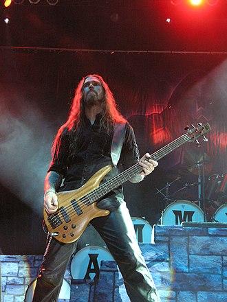 Fredrik Larsson - Image: Masters of Rock 2007 Hammerfall Fredrik Larsson 01