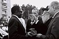 Maurice Yaméogo - Rabbi Porush 1961.jpg