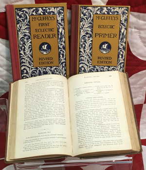 McGuffey Readers - Henry Ford's childhood set of McGuffey's Readers