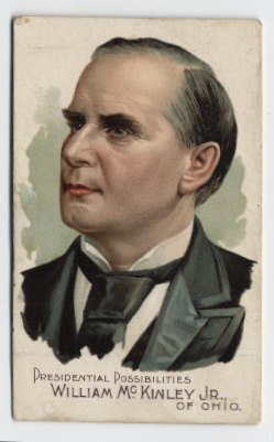 McKinley 1892 card