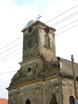 Međa, Žitište - Image: Međa, Catholic Church
