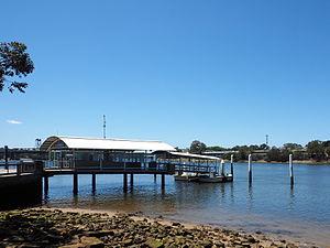 Meadowbank ferry wharf - Wharf in December 2014