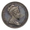 Medalj med Desideria, 1829 - Skoklosters slott - 100173.tif