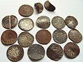 Medieval Coin Hoard, Pennies of Henry III and Alexander III (FindID 460126).jpg