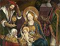 Meister von Sigmaringen Anbetung der Heiligen Drei Könige.jpg