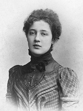 Melanie Klein - Melanie Klein c. 1900