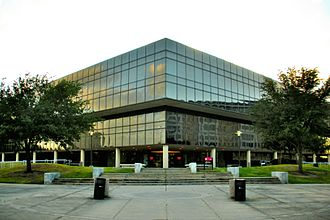 Bauer College of Business - Melcher Hall (Front)