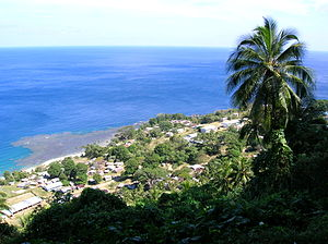 Pentecost Island - The village of Melsisi on Pentecost Island