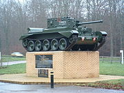 Memorial To 7th Armoured Division Desert Rats - geograph.org.uk - 299386