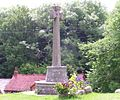 Memorial cross at Lustleigh - geograph.org.uk - 20098.jpg