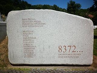 Bosnian genocide Murder of Bosniaks and Bosnian Croats during the Bosnian War