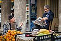 Men catching up with the news in the morning, Nicosia.jpg