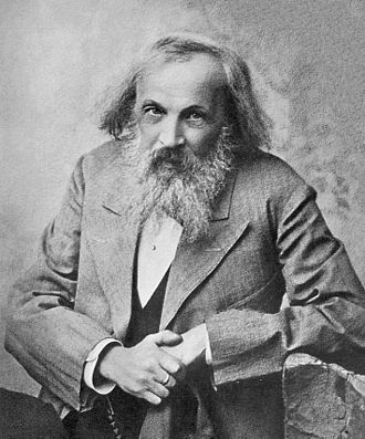 History of the periodic table - Dmitri Ivanovich Mendeleev