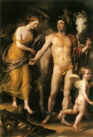 Westmorland (ship) - Perseus And Andromeda by Mengs, another painting captured from the Westmorland (Hermitage)