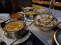 Menjar d'un restaurant de cuina índia i nepalesa, Xàbia.jpg