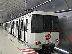 Metro Barcelona train type 3000