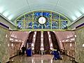 Metro SPB Line5 Admiralteyskaya escalators.jpg