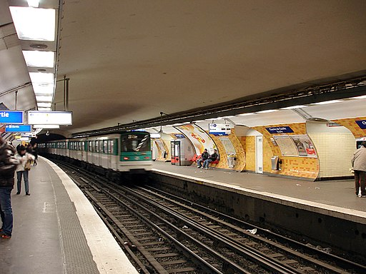 Metro de Paris - Ligne 2 - Charles de Gaulle - Etoile 02