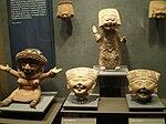 Mexico - Museo de antropologia - Danseurs.JPG