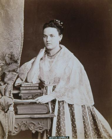 Meztizo Spanish Woman